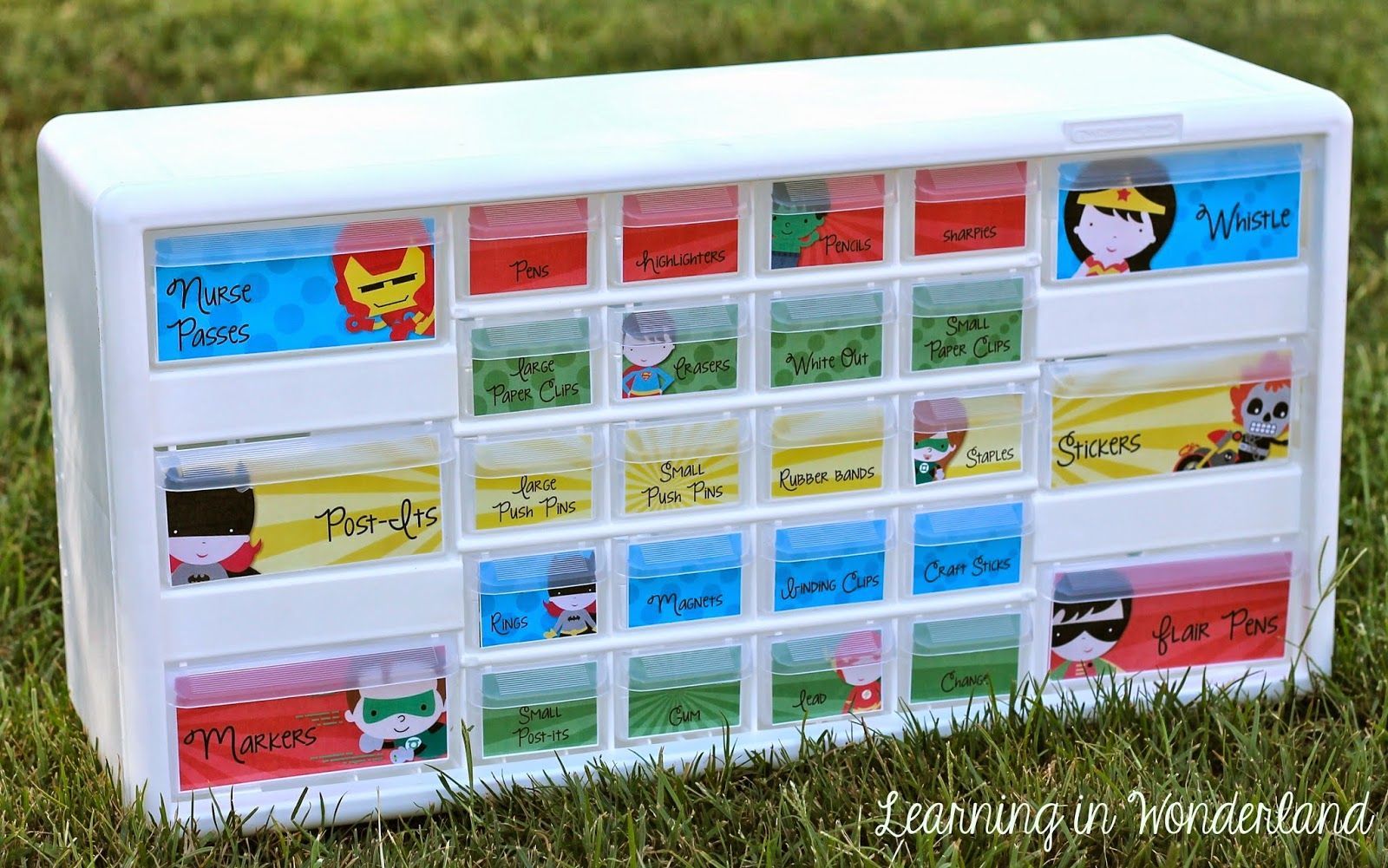 http://www.teacherspayteachers.com/Product/Im-Super-Organized-Super-Hero-Edition-Teacher-Toolbox-and-More-1288243