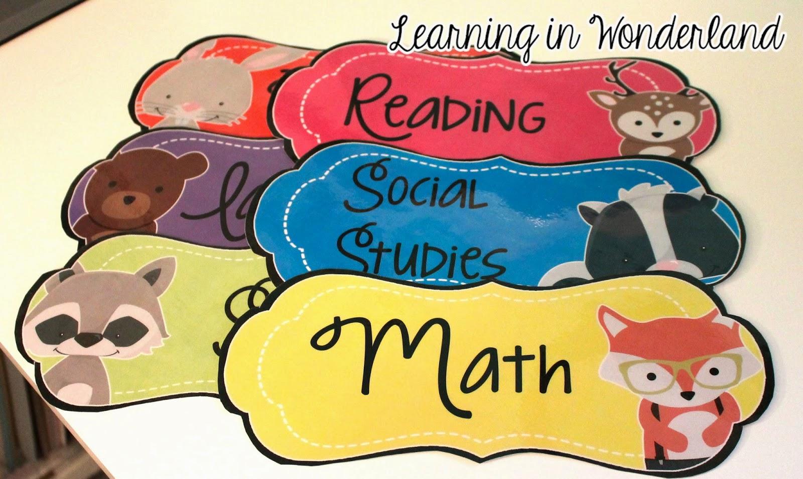 http://www.teacherspayteachers.com/Product/Objectives-Bulletin-Board-Colorful-Owls-Edition-1352427