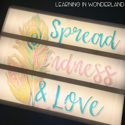 Fun light box designs for the home and the classroom!