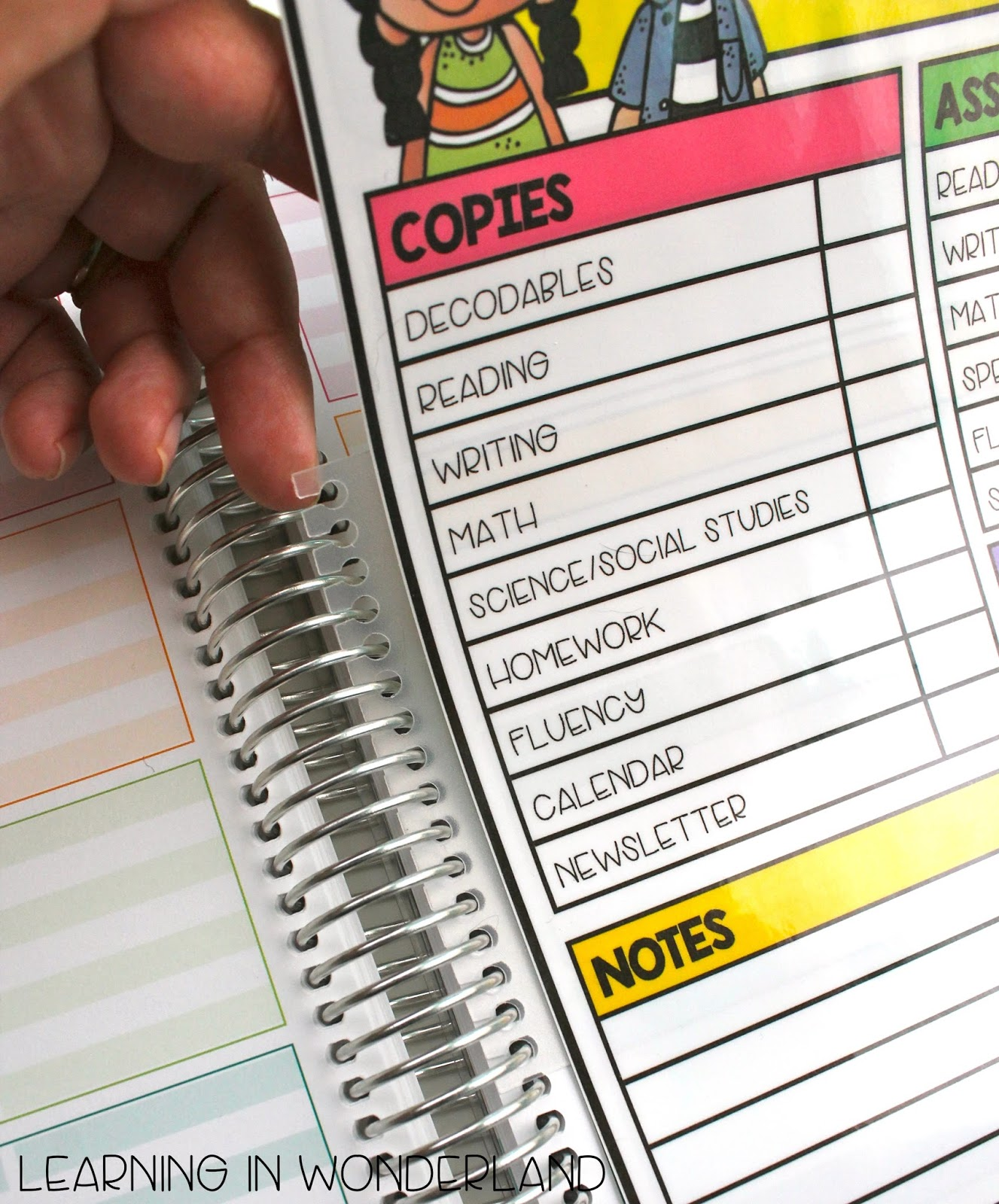 Use Coil Clips to attach your checklist to your planner!