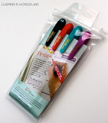 These wet erase markers will only erase with water! No more smudging!