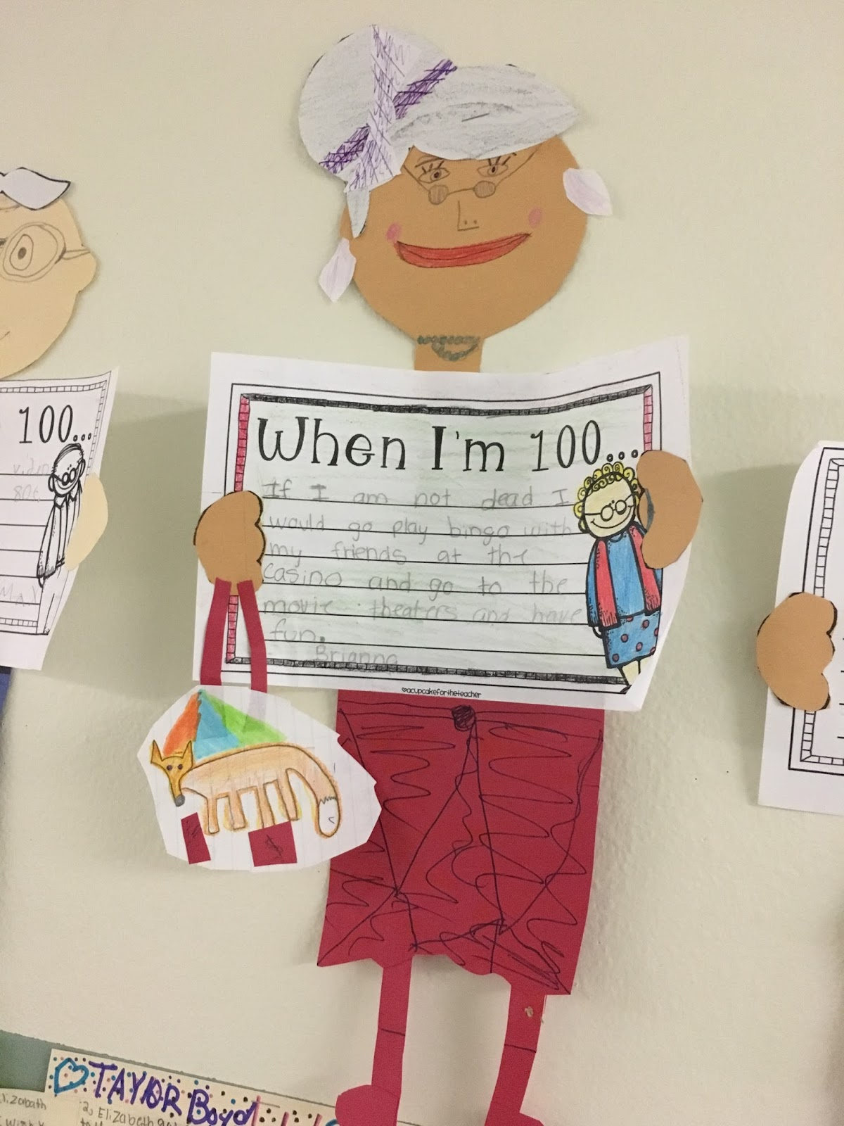 Adorable 100th Day of School project