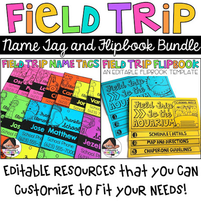 Perfect resources for field trips!